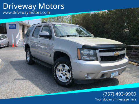2008 Chevrolet Tahoe for sale at Driveway Motors in Virginia Beach VA