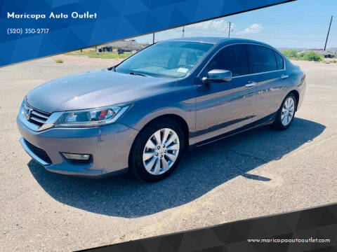2015 Honda Accord for sale at Maricopa Auto Outlet in Maricopa AZ