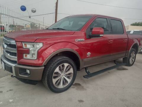 2015 Ford F-150 for sale at Hugo Motors INC in El Paso TX