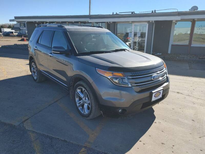 2012 Ford Explorer for sale at BERG AUTO MALL & TRUCKING INC in Beresford SD