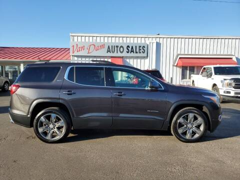 2018 GMC Acadia for sale at Van Dam Auto Sales Inc. in Holland MI