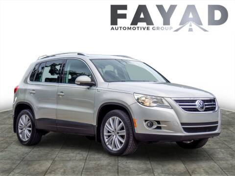 2010 Volkswagen Tiguan for sale at FAYAD AUTOMOTIVE GROUP in Pittsburgh PA