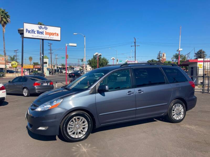2008 Toyota Sienna for sale at Pacific West Imports in Los Angeles CA