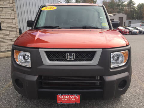 2004 Honda Element for sale at Norm's Used Cars INC. - Trucks By Norm's in Wiscasset ME