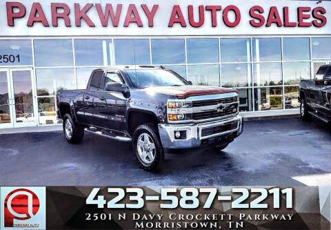 2015 Chevrolet Silverado 2500HD for sale at Parkway Auto Sales, Inc. in Morristown TN