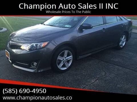 2014 Toyota Camry for sale at Champion Auto Sales II INC in Rochester NY