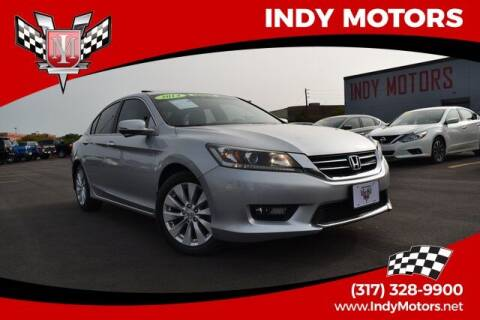 2014 Honda Accord for sale at Indy Motors Inc in Indianapolis IN