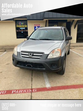2005 Honda CR-V for sale at Affordable Auto Sales in Dallas TX