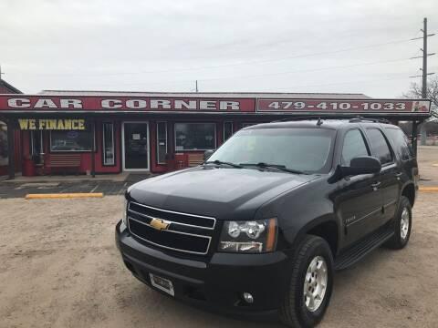 2013 Chevrolet Tahoe for sale at CAR CORNER in Van Buren AR