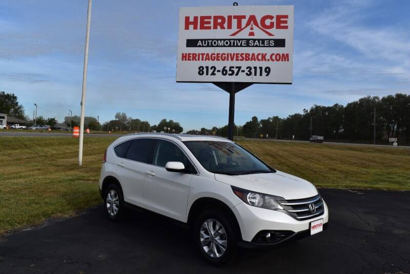 2014 Honda CR-V for sale at Heritage Automotive Sales in Columbus in Columbus IN