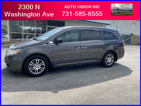2013 Honda Odyssey for sale at Auto Vision Inc. in Brownsville TN