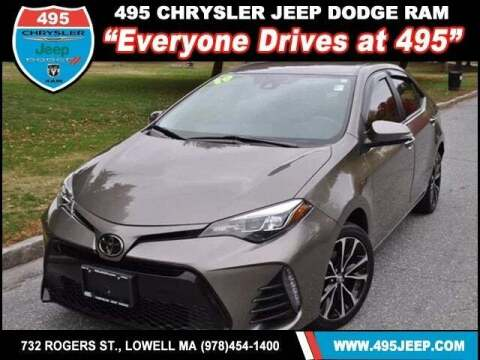 2019 Toyota Corolla for sale at 495 Chrysler Jeep Dodge Ram in Lowell MA