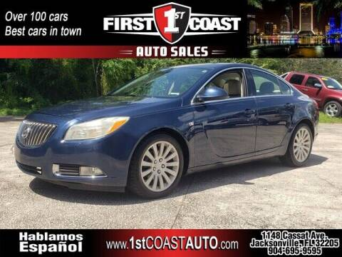 2011 Buick Regal for sale at 1st Coast Auto -Cassat Avenue in Jacksonville FL