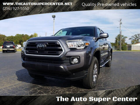 2018 Toyota Tacoma for sale at The Auto Super Center in Centre AL