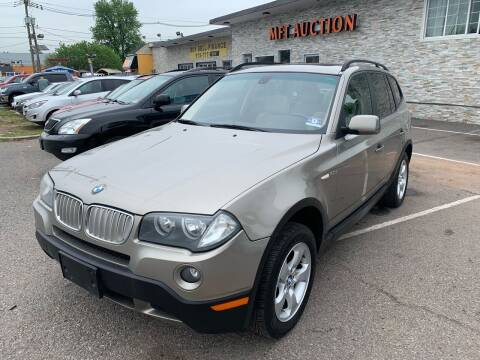 2008 BMW X3 for sale at MFT Auction in Lodi NJ