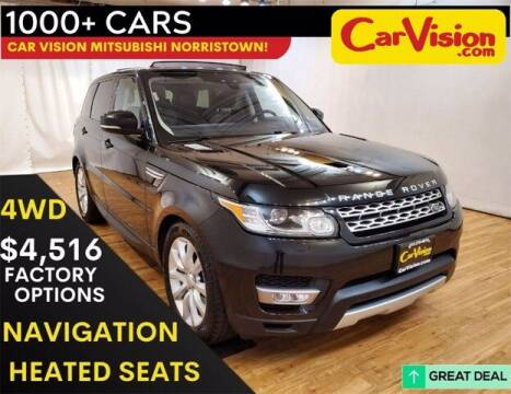 2017 Land Rover Range Rover Sport for sale at Car Vision Buying Center in Norristown PA