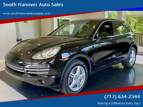 2014 Porsche Cayenne for sale at South Hanover Auto Sales in Hanover PA