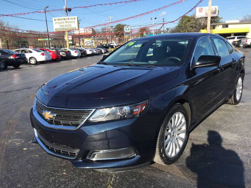 2016 Chevrolet Impala for sale at IMPALA MOTORS in Memphis TN