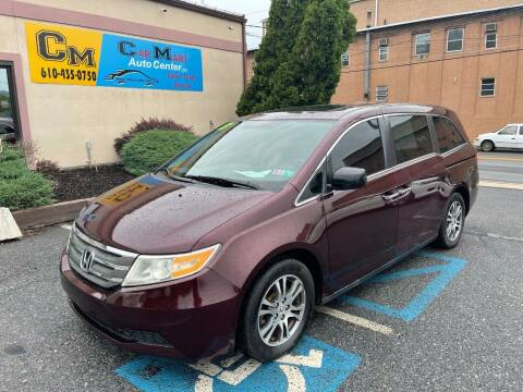 2013 Honda Odyssey for sale at Car Mart Auto Center II, LLC in Allentown PA