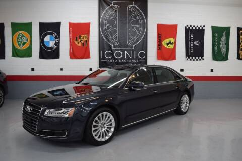 2015 Audi A8 L for sale at Iconic Auto Exchange in Concord NC