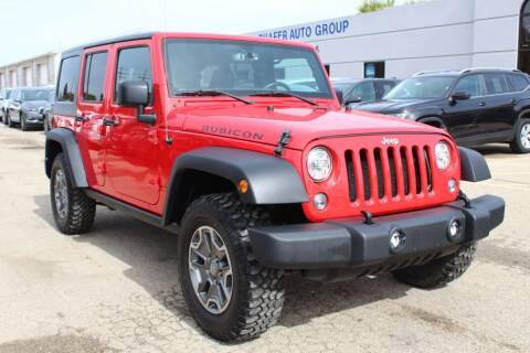 2018 Jeep Wrangler JK Unlimited for sale at SHAFER AUTO GROUP in Columbus OH