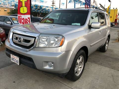 2010 Honda Pilot for sale at Plaza Auto Sales in Los Angeles CA