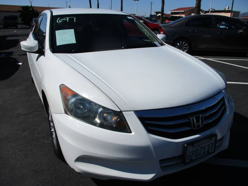 2011 Honda Accord for sale at F & A Car Sales Inc in Ontario CA
