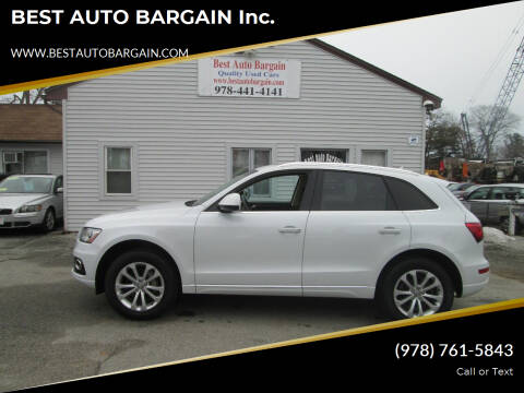 2016 Audi Q5 for sale at BEST AUTO BARGAIN inc. in Lowell MA