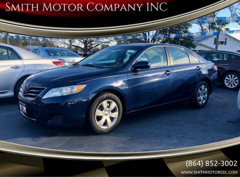 2011 Toyota Camry for sale at Smith Motor Company INC in Mc Cormick SC