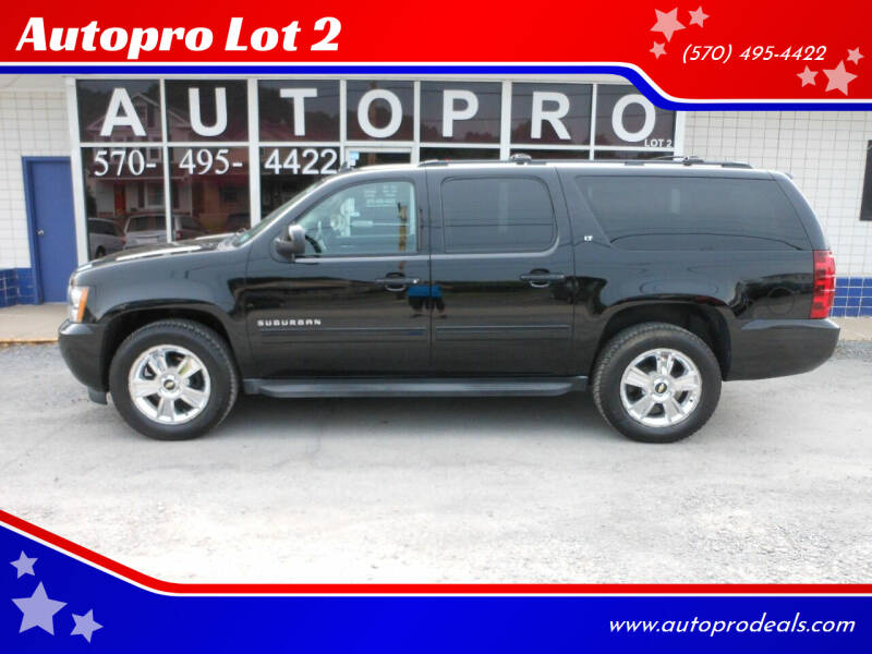2012 Chevrolet Suburban for sale at Autopro Lot 2 in Sunbury PA