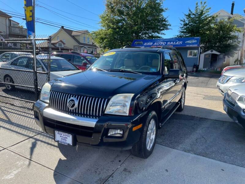 2007 Mercury Mountaineer for sale at KBB Auto Sales in North Bergen NJ
