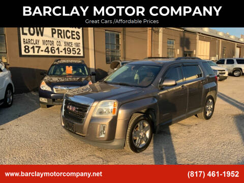 2012 GMC Terrain for sale at BARCLAY MOTOR COMPANY in Arlington TX