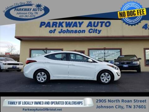 2016 Hyundai Elantra for sale at PARKWAY AUTO SALES OF BRISTOL - PARKWAY AUTO JOHNSON CITY in Johnson City TN