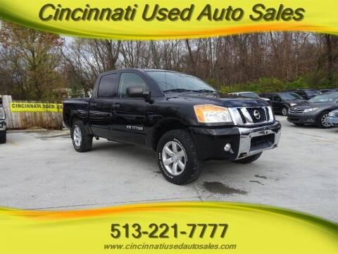 2010 Nissan Titan for sale at Cincinnati Used Auto Sales in Cincinnati OH
