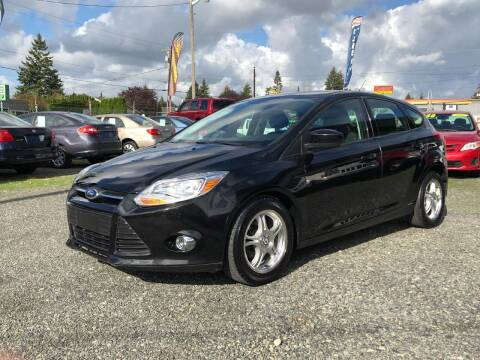 2012 Ford Focus for sale at A & V AUTO SALES LLC in Marysville WA