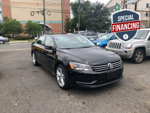 2014 Volkswagen Passat for sale at 103 Auto Sales in Bloomfield NJ