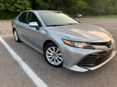 2018 Toyota Camry for sale at Lifetime Automotive LLC in Middletown OH