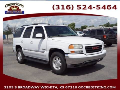2004 GMC Yukon for sale at Credit King Auto Sales in Wichita KS