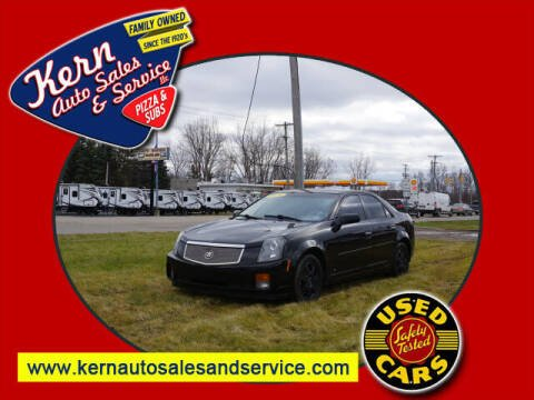 2006 Cadillac CTS for sale at Kern Auto Sales & Service LLC in Chelsea MI