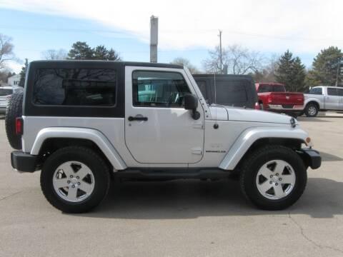 2011 Jeep Wrangler for sale at MCQUISTON MOTORS in Wyandotte MI
