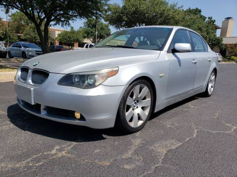 2004 BMW 5 Series for sale at ZNM Motors in Irving TX