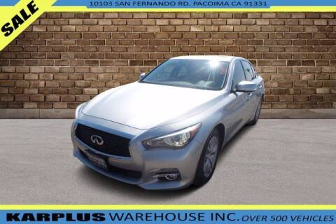 2016 Infiniti Q50 for sale at Karplus Warehouse in Pacoima CA