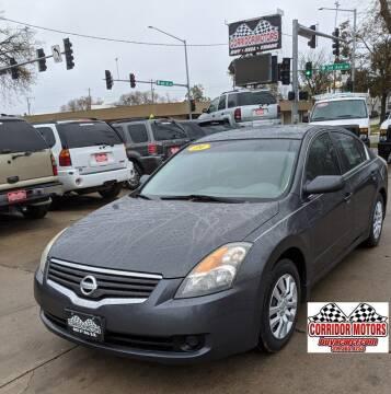 2009 Nissan Altima for sale at Corridor Motors in Cedar Rapids IA