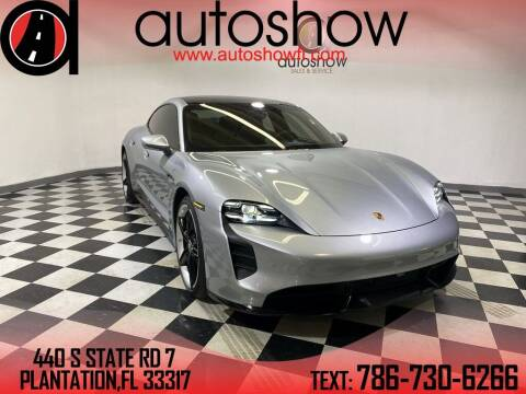 2020 Porsche Taycan for sale at AUTOSHOW SALES & SERVICE in Plantation FL