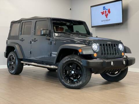 2017 Jeep Wrangler Unlimited for sale at TX Auto Group in Houston TX