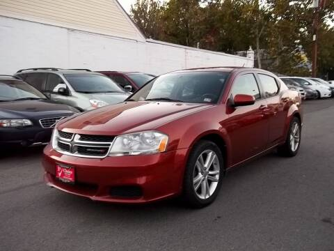 2012 Dodge Avenger for sale at 1st Choice Auto Sales in Fairfax VA