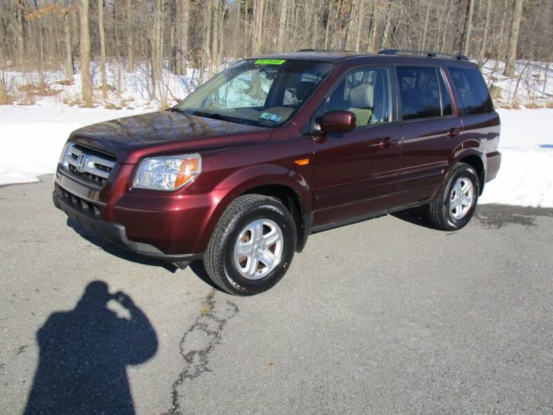 2008 Honda Pilot for sale at W.R. Barnhart Auto Sales in Altoona PA
