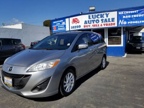 2014 Mazda MAZDA5 for sale at Lucky Auto Sale in Hayward CA
