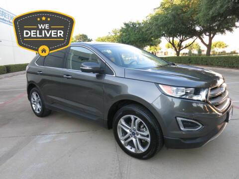 2018 Ford Edge for sale at Auto Genius in Dallas TX