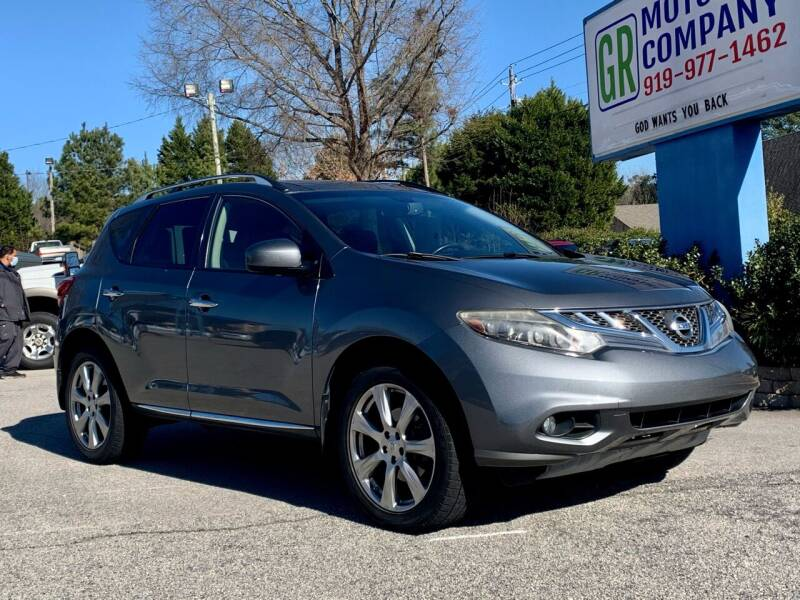 2014 Nissan Murano for sale at GR Motor Company in Garner NC